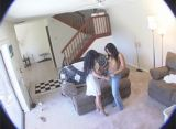 housewife getting into it with the maid
