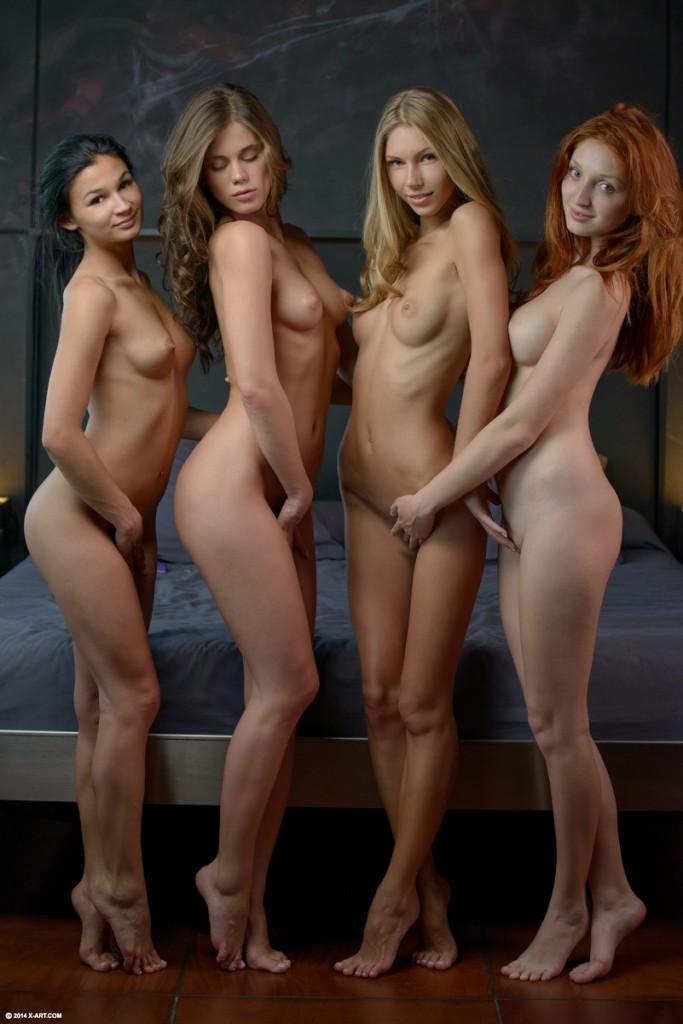 голые красивые девчонки красотки разной национальности фото и видео