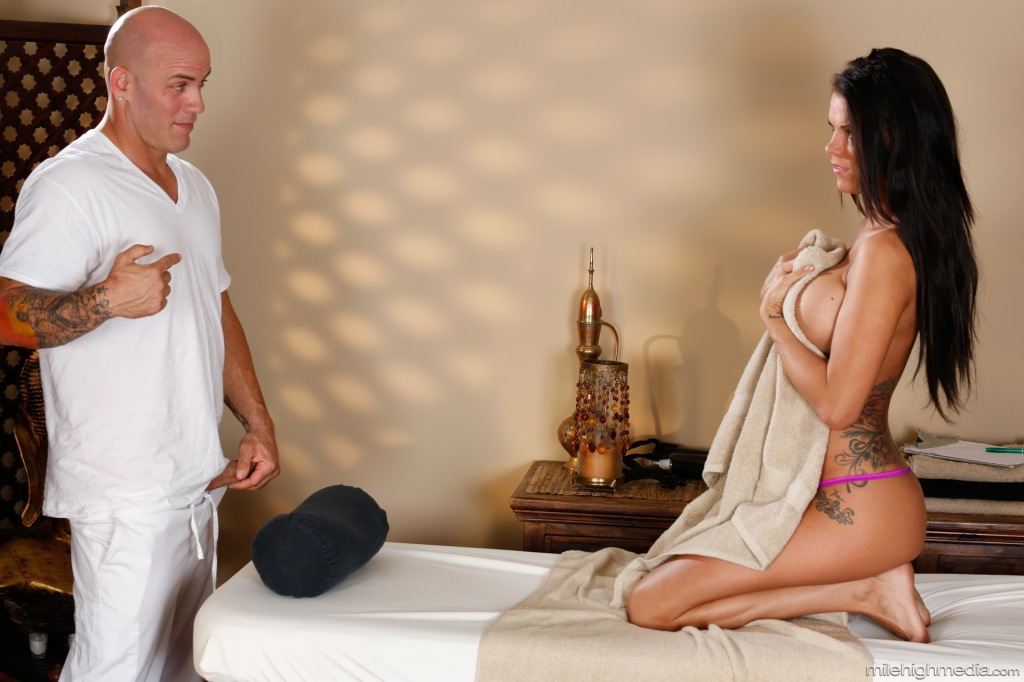 peta jensen nuru massage Stains