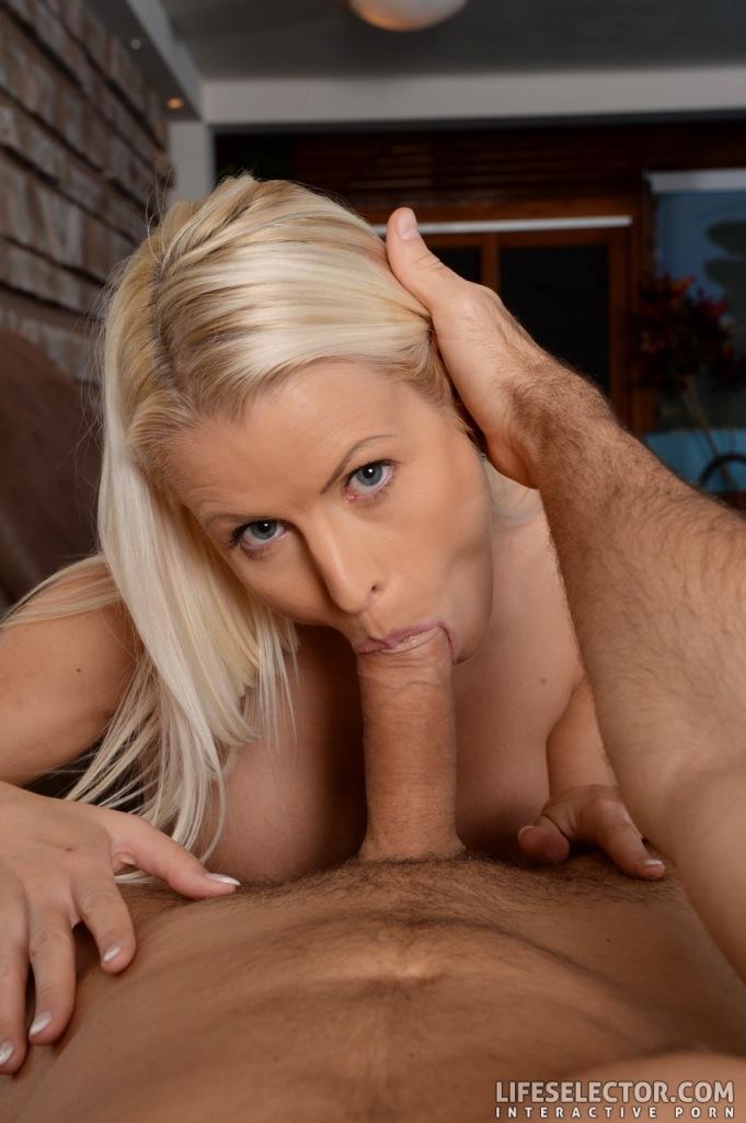 Bikini blonde cheating