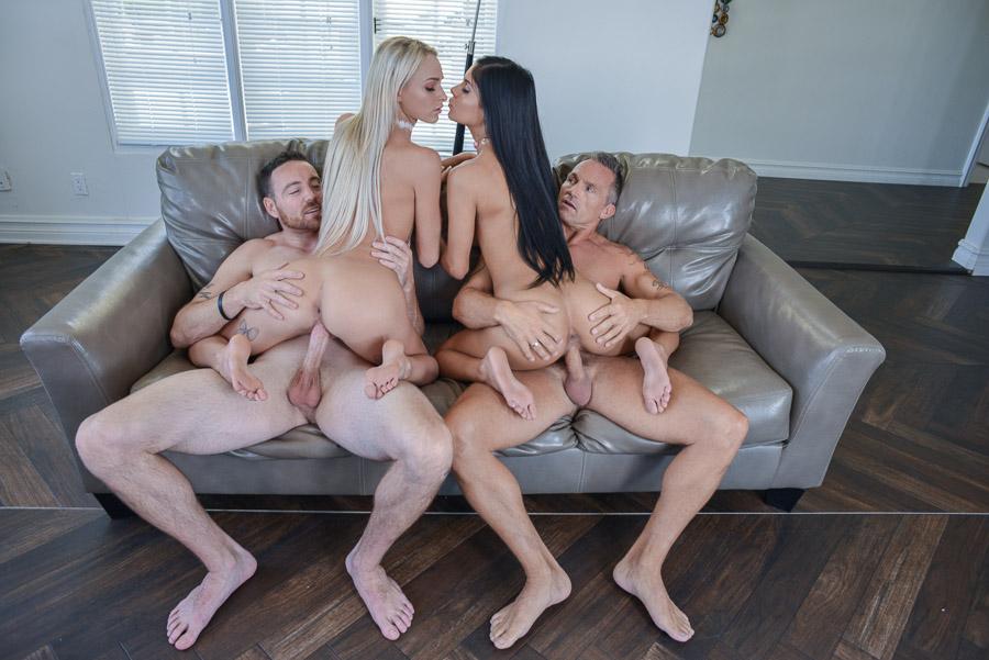 Pussy swap, malasy aunty sex