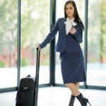 Stewardess Alina Lopez